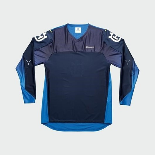 Picture of RAILED SHIRT BLUE