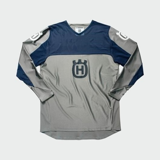 Picture of RAILED SHIRT GREY