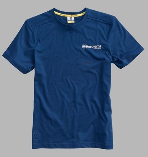 Picture of BASIC LOGO TEE BLUE